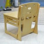 Детский стульчик вид сзади