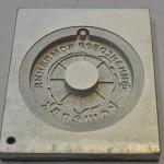Форма для изготовления брелков из ПВХ