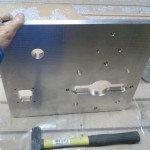Фрезерованная алюминиевая плита