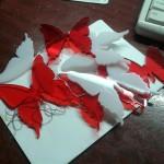 Акриловые бабочки для декора, создания люстр, и других дизайнерских идей